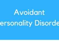 Medical Definition of Avoidant Personality Disorder