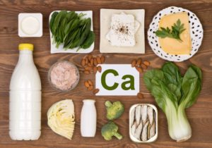 Calcium-containing foods